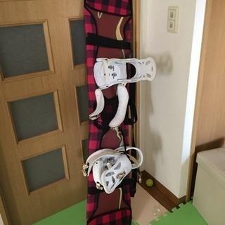 スノボ板&カバー&ブーツ🏂 5000円