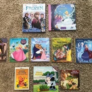 【おまけ3冊付き】ディズニープリンセスの英語絵本7冊 (計10冊)