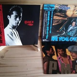 矢沢永吉LPレコード3枚