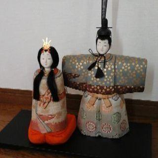 立雛人形(木目込み)美品
