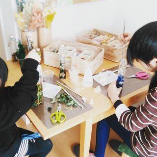 北区上飯田でハーバリウム教室