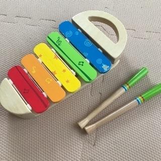 Hapeの木琴おもちゃ 商談中
