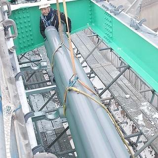 橋梁排水装置の工場加工・現場取り付け工事   正社員募集 - 正社員