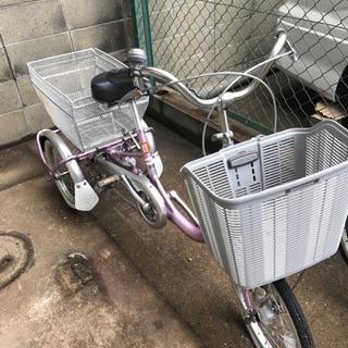 新品・未使用 大人用三輪車