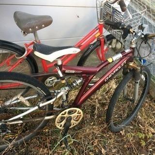 シボレーのマウンテンバイク(ジャンクです)