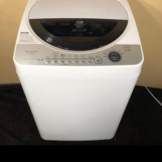 SHARP 6キロ 乾燥機つき