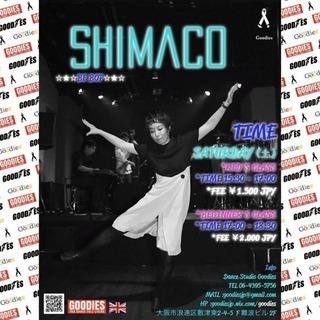 """体験ダンスレッスン """"BE BOP"""" SHIMACO"""