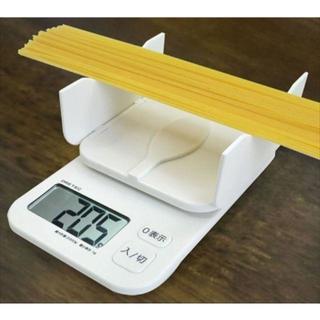 デジタルスケール 「パカット」 2kg ホワイト