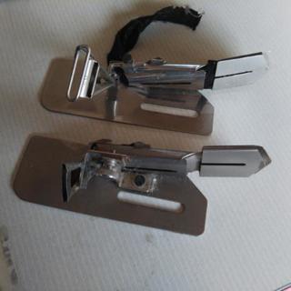 2本針DVミシン用バインダーアタッチ