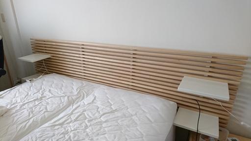 IKEAのベッド用ヘッドボード MANDALをお譲りします - 世田谷区