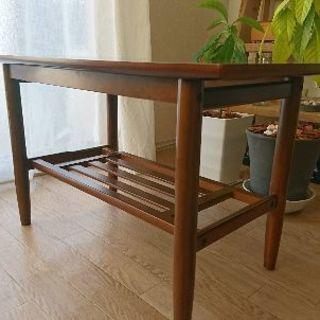 カリモク コーヒーテーブル karimoku ウォルナット調