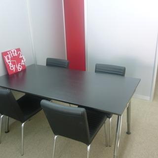 イケアで買ったテーブル 椅子4脚 の画像