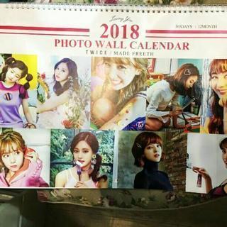 twiceカレンダー2018