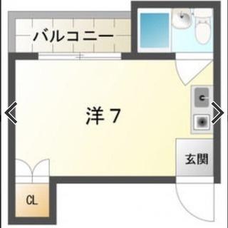 リフォーム済 古川橋駅徒歩 門真市 1R 初期費用ゼロ‼️家具家電付き