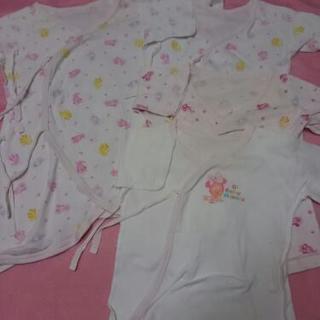 新生児ミニー肌着四枚セット 50~60cm