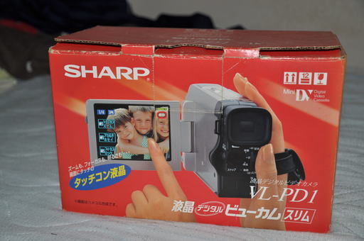 SHARP液晶ビューカム【スリム】VL-PD1 (pon) 東船橋のビデオカメラ ...