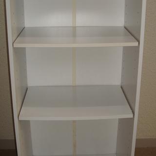 カラーボックス3段(棚調整可)、4個
