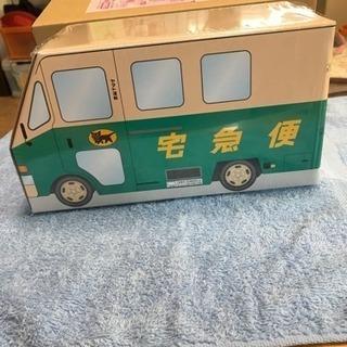 クロネコヤマトの宅急便の形をしたリアルなBOXテッシュケース