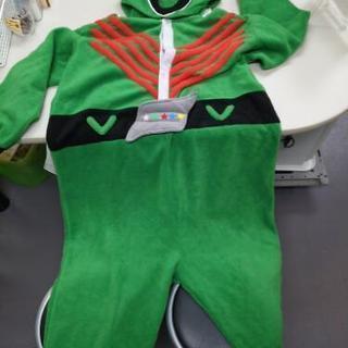 【再値下】ゴレンジャー緑の着ぐるみタイプつなぎ