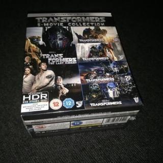 トランスフォーマー全作品UHD、Blu-rayセット(o・д・)...