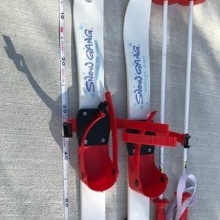 子供用 スキー板 プラスチック製