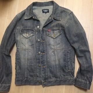 デニムのジャケット黒