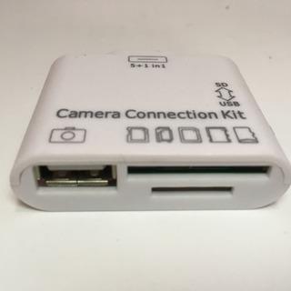iPhone SDカードリーダー