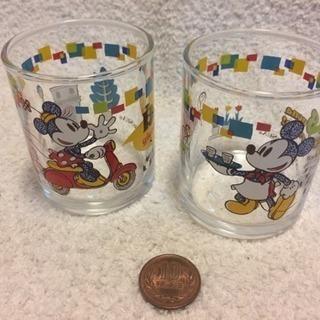 値下げ! ミッキー&ミニーのミニグラス