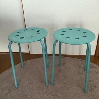 IKEA パイプ椅子