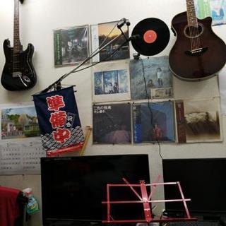 昭和音楽とヘアーサロンの画像