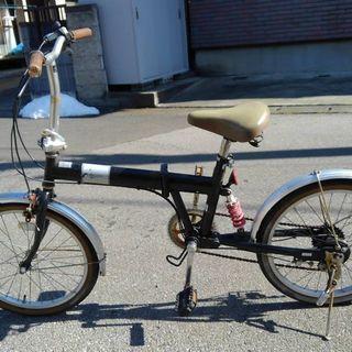 折り畳み式 自転車 ジャンク