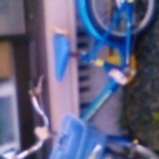 ジャンク 16インチ男の子用自転車 使用可能です。汚れサビあり。