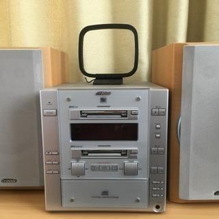 Victor  CD MD コンポ (ジャンク品)