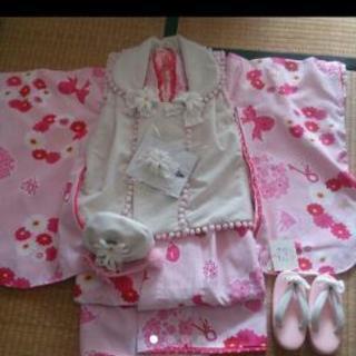 ひな祭りにまだ間に合う!3歳 被布着物セット 松田聖子