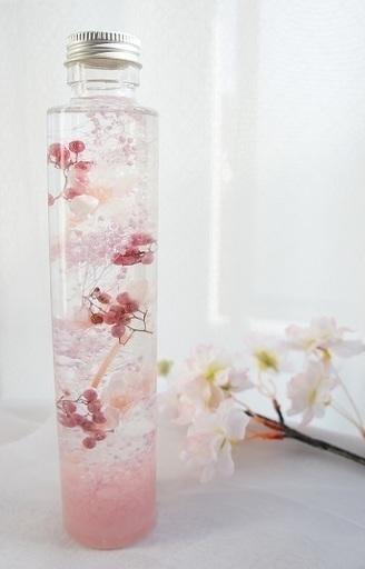 春のモチーフ・SAKURAを先取り!ハーバリウム~Blossom~を作ってみよう
