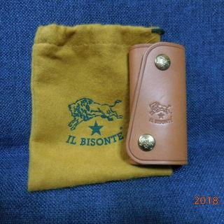 【未使用】 IL BISONTE キーケース
