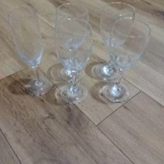 ワイングラス5個