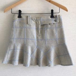 【美品】epuda イプダ チェックのミニスカート♡