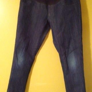 無印良品 マタニティデニムパンツ(ズボン) Mサイズの画像