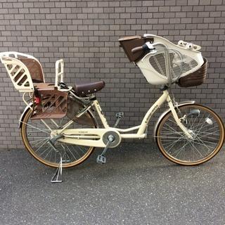 美品 中古 自転車 3人乗り用 26インチ【ママチャリ子供椅子付き】