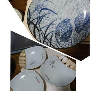 有田焼4枚&香蘭社4枚可愛い小皿4枚