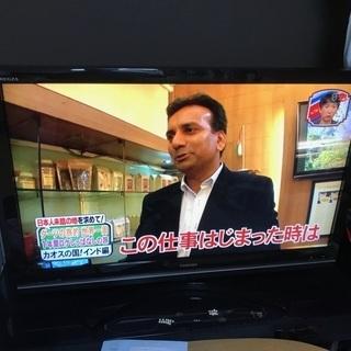 42インチ液晶テレビ・リモコン レコーダー用HDD