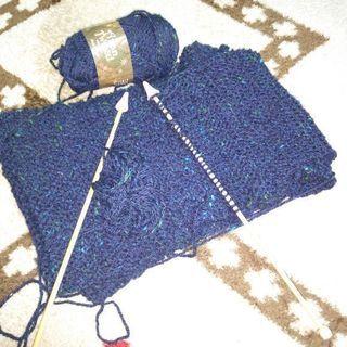 編み物初心者です(棒あみ)