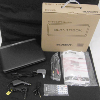 BLUEDOT ブルードット DVDプレーヤー BDP-1030...