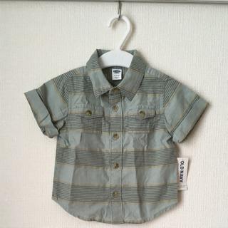 新品未使用 オールドネイビー 75 チェックシャツ ①