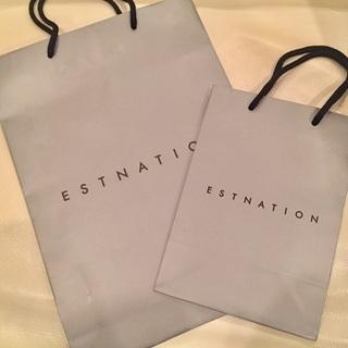 ESTNATION ショップ紙袋