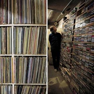 レコード貰います