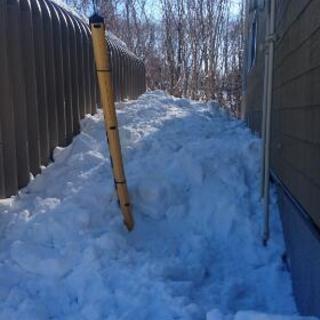 屋根雪下ろし 、除雪 − 北海道