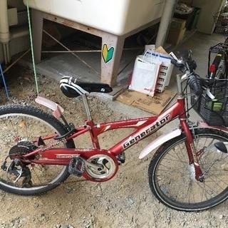 男児22インチ自転車