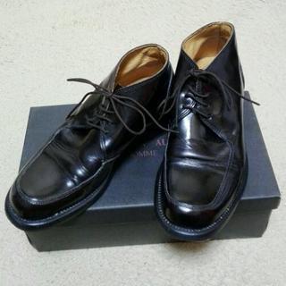 革靴(4)CHRISTIAN AUJARD HOMME (25cm)